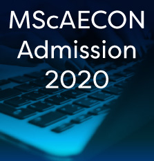 MScAECON Admission 2019